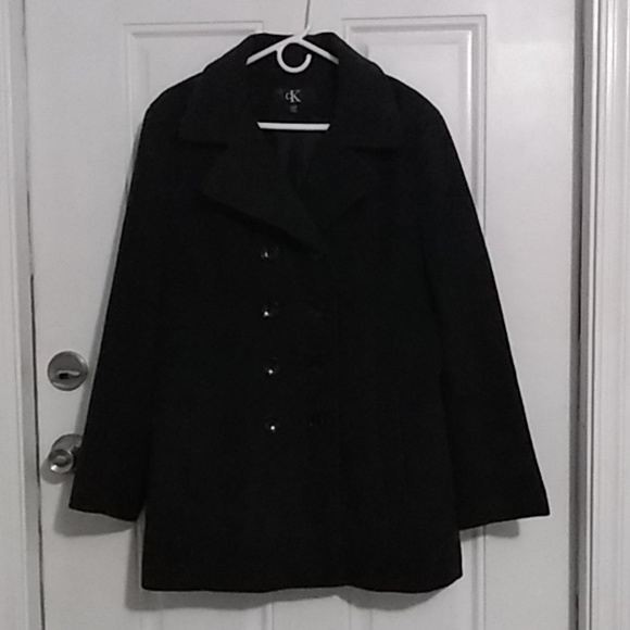 Calvin Klein Other - Double Breasted Wool Coat